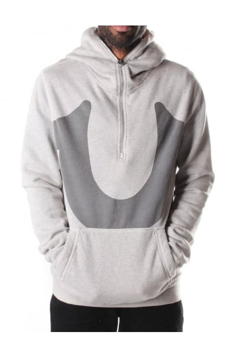 Men's Long Zip Fly Hoodie
