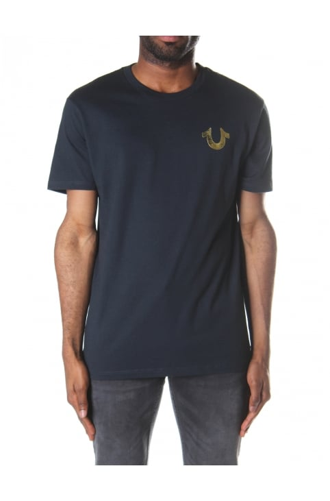 Men's Metallic Gold Buddha Tee