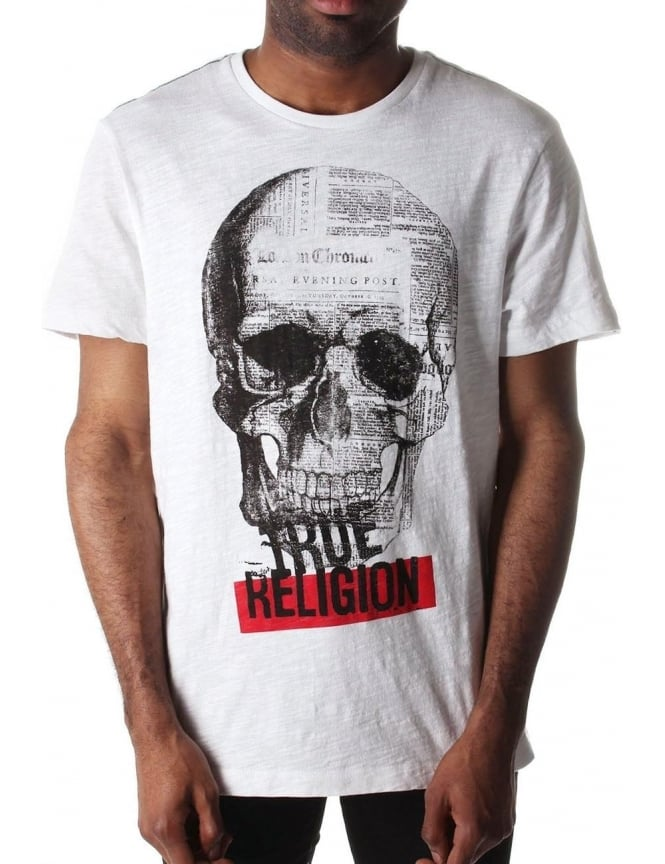 True Religion Men's Punk Tour T-shirt