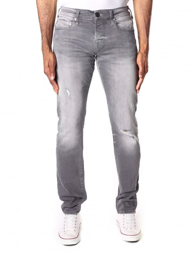 True Religion Men's Rocco Relaxed Skinny Jean