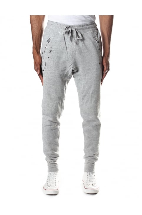 Random Pyramid Men's Studded Sweat Pants