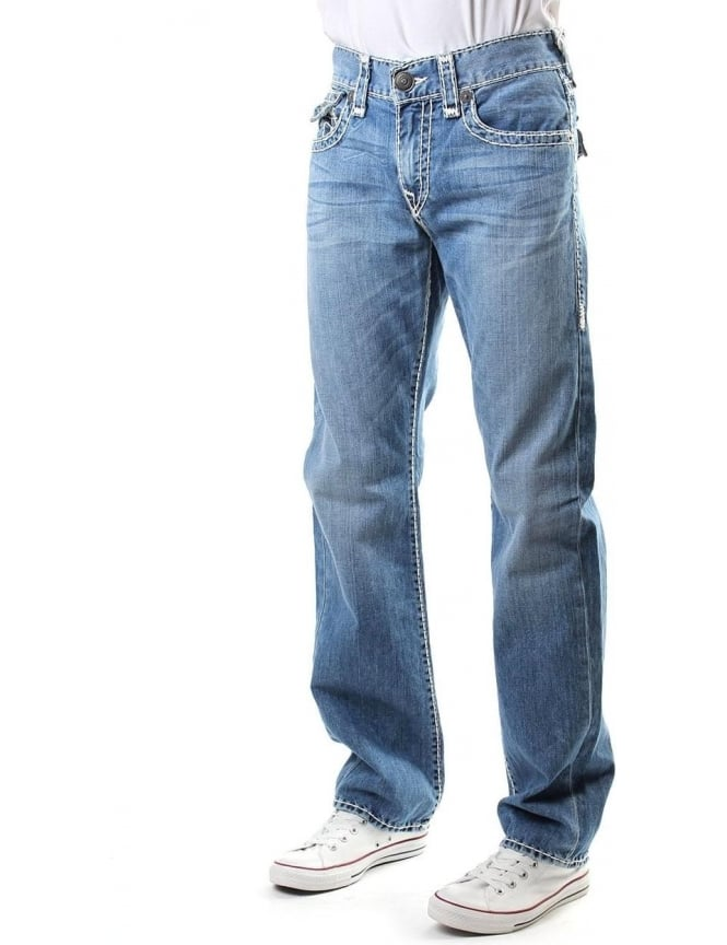 True Religion Ricky Relaxed Men's Straight Jean Denim