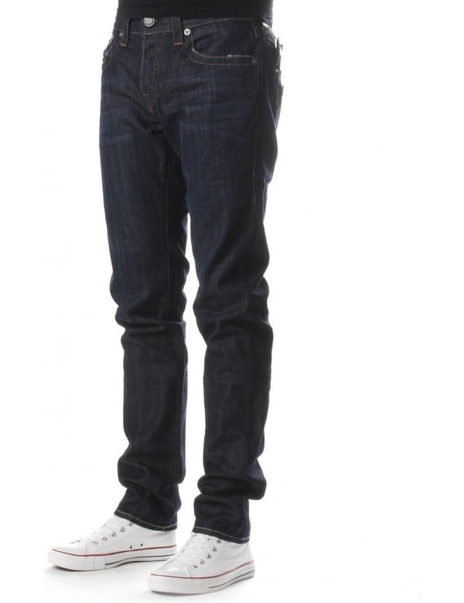 True Religion Rocco Men's Relaxed Skinny Jean Indigo