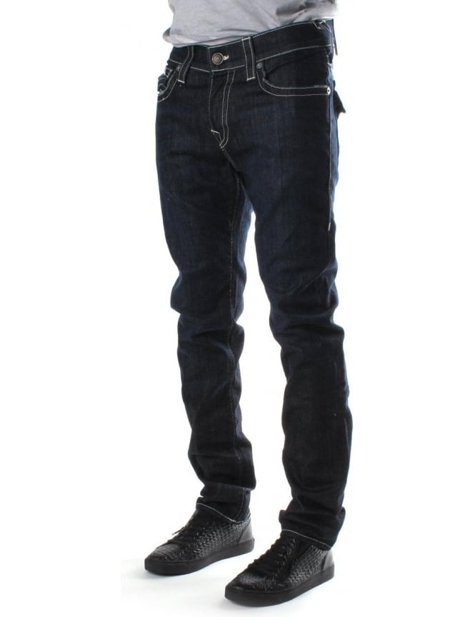 True Religion Rocco Relaxed Men's Skinny Fit Jean Indigo