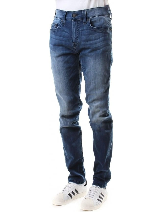 True Religion Rocco Relaxed Skinny Fit Men's Jean Denim