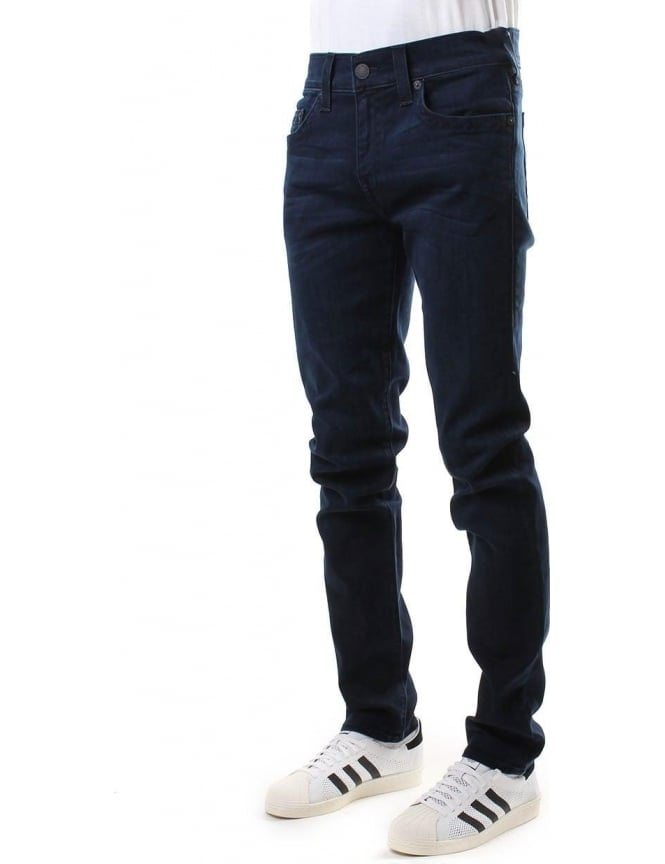 True Religion Rocco Relaxed Skinny Fit men's Jean Indigo