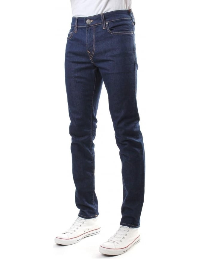 True Religion Tony No Flap Men's Stretch Jean Midnight
