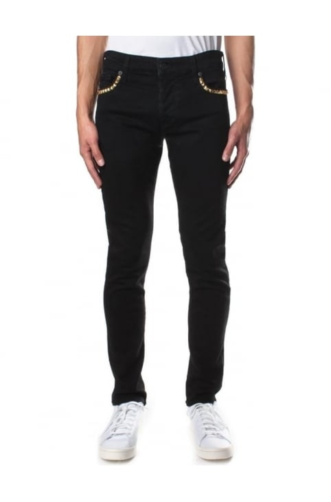 Tony Stud Embellished Men's Jeans