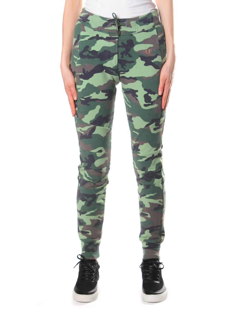 True Religion Women's Camo Sweat Pants