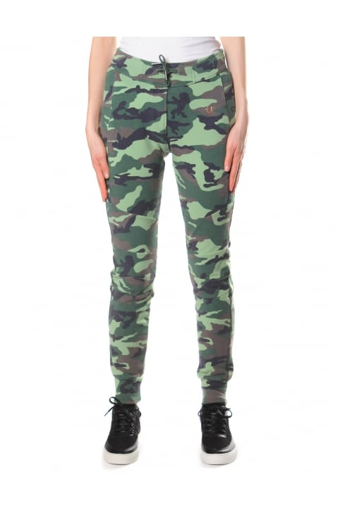 Women's Camo Sweat Pants Dusty Olive