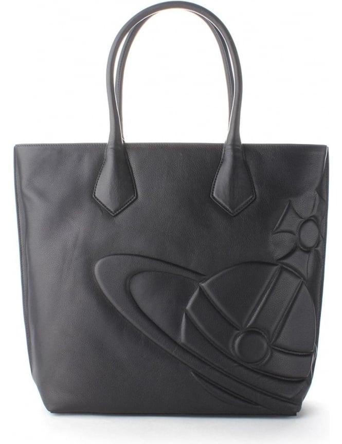 386fa90f68 Vivienne Westwood Turner Women's Tote Bag Black