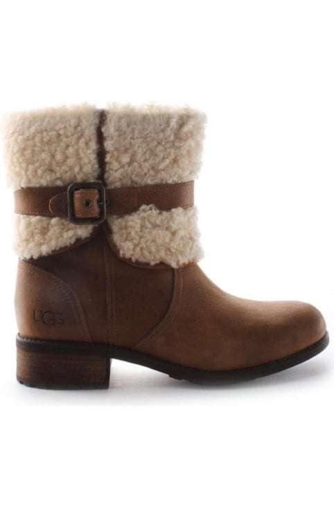 Blayre II Womens Boots Chestnut