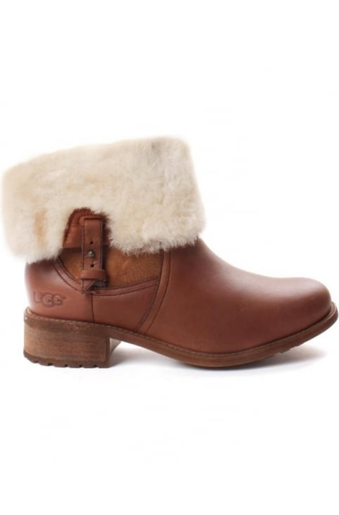 Chyler Sheepskin Cuffed Women's Boot