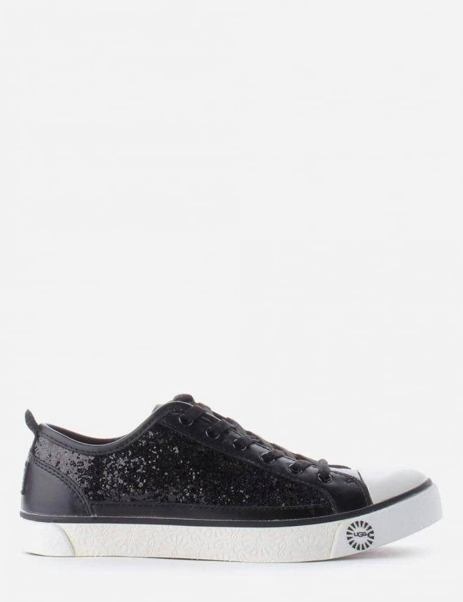 4afd6fb2d282 Evera Glitter Women's Trainer Black