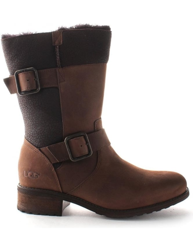 Oregon Mid Calf Boot Brown