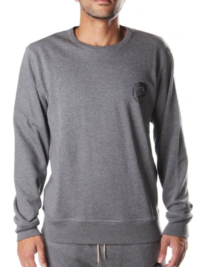 NEW Diesel Sweatshirt Black UMLT WILLY Mens Crew Neck Sweater Regular Fit NEW