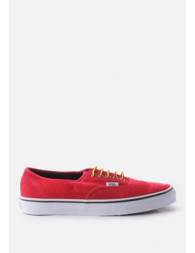 Vans Authentic Hiker Suede Men's Pump Chili Pepper