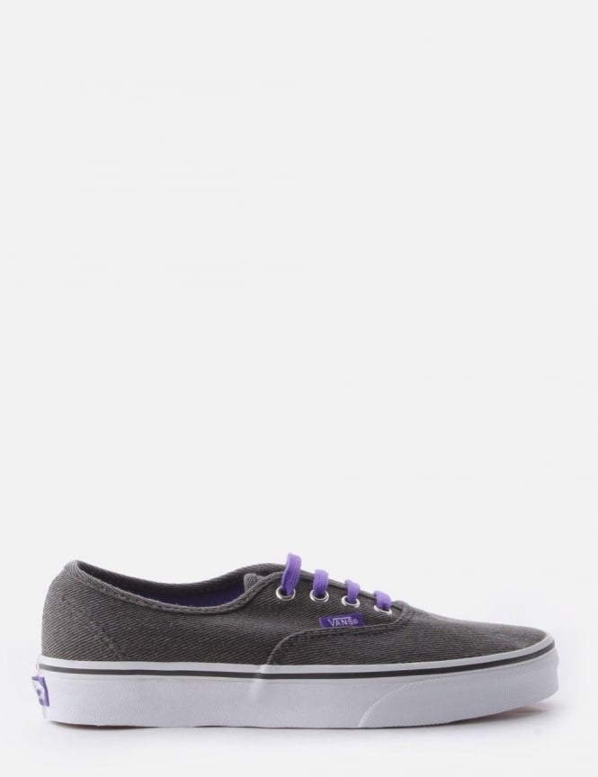 Vans Authentic Women's Pump Black/Purple