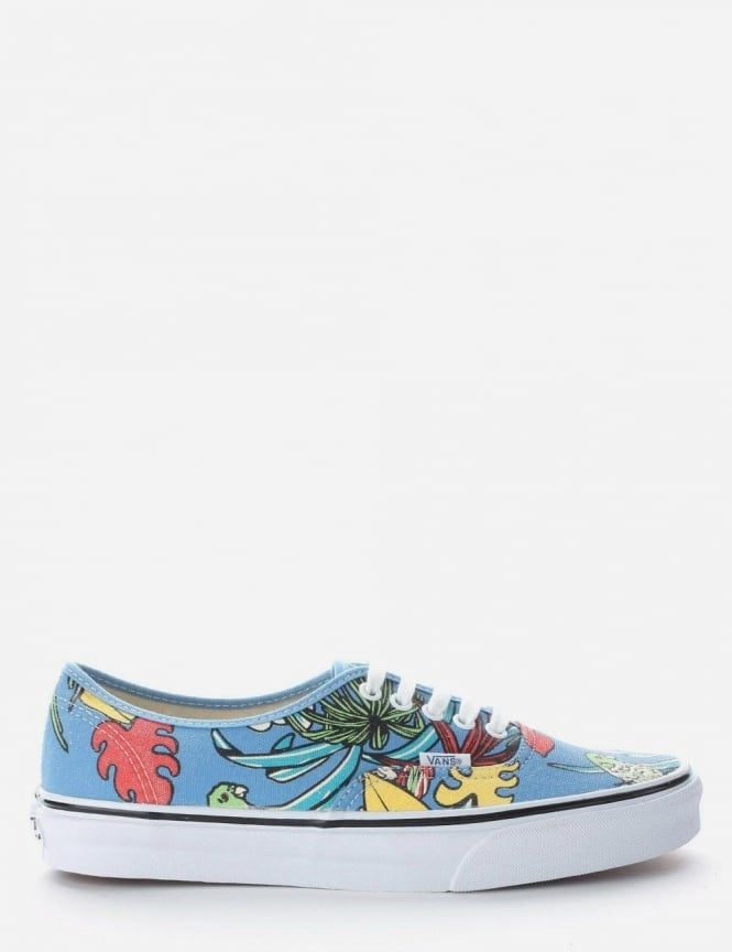 Vans U Authentic Men's Lace Up Pump Light Blue