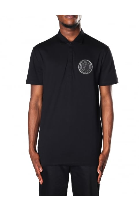 Logo Badge Men's Short Sleeve Polo Top