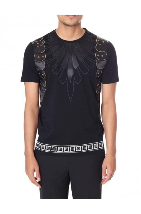 Men's Applique Trim Wing Tee