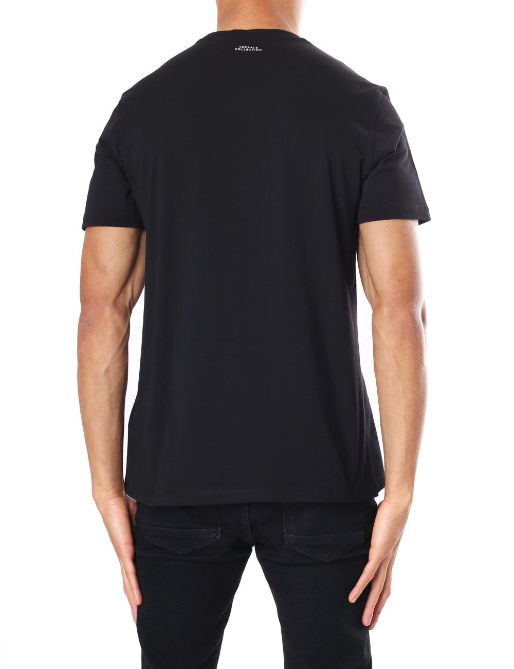 850571723 Versace Collection Men's Medusa Logo Crew Neck Short Sleeve T-Shirt