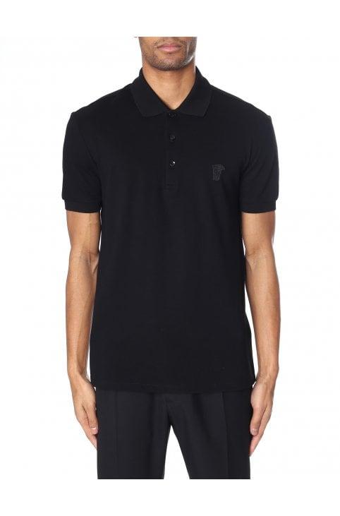 9ffad96bbd61e Men s Medusa Short Sleeve Polo Top · Versace Collection ...