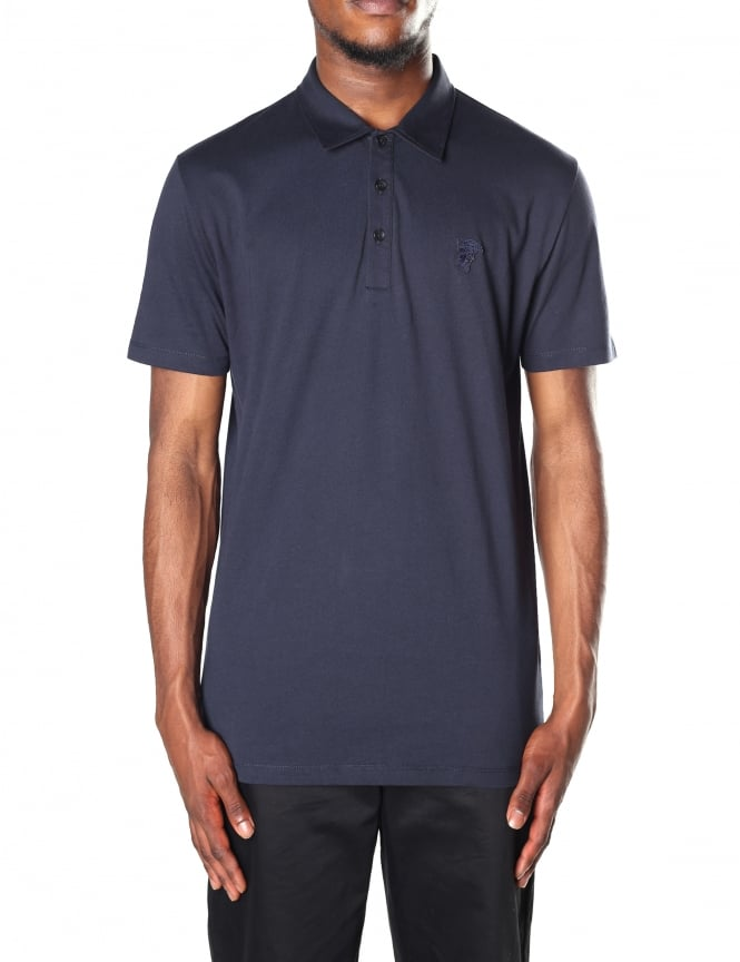 Versace Collection Men's Short Sleeve Polo Top