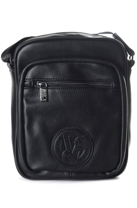 Badge Logo Men's Crossbody Bag