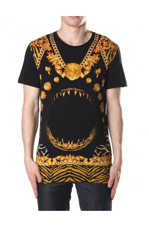 Chain And Teeth Men's Crew Neck Tee