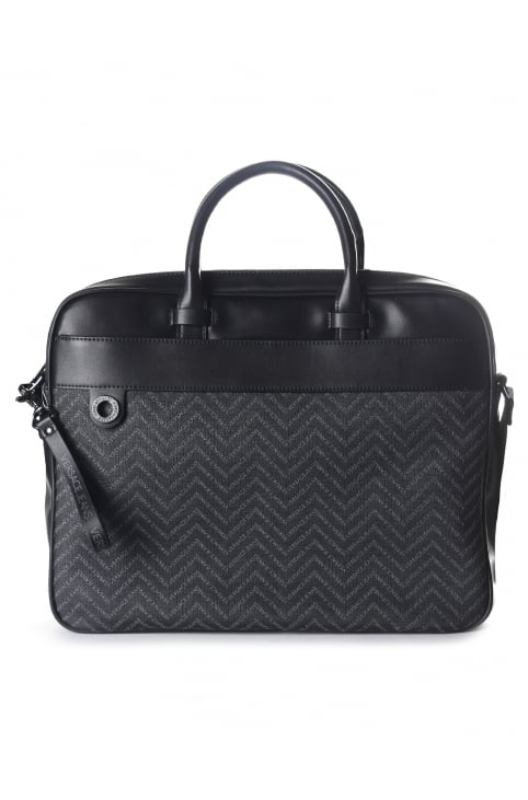 Chevron Print Men's Lap Top Bag