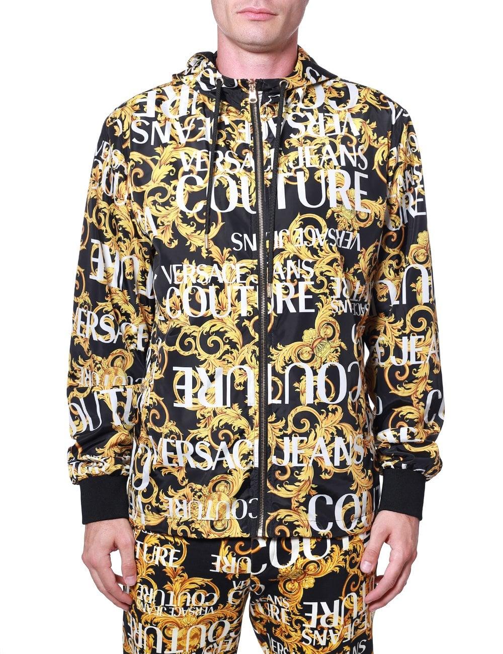 c782d15069 Baroque Zip-up Reversible Jacket
