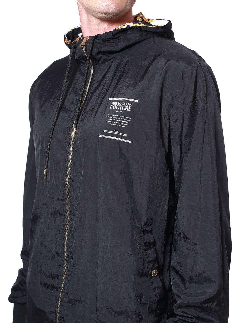 5f5dfe7d24 Baroque Zip-up Reversible Jacket
