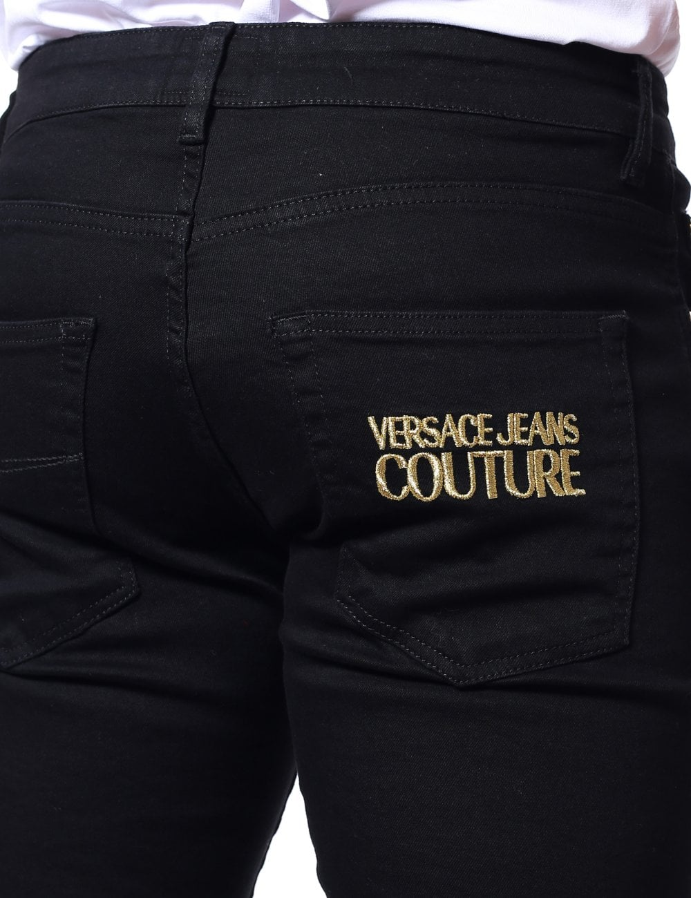 bd535cb949 Narrow Fit Logo Pocket Jeans