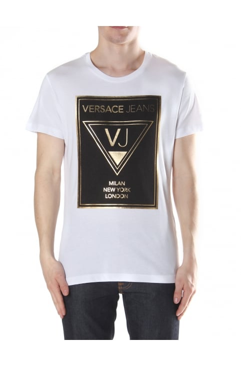 Foil Logo Men's Crew Neck T-shirt