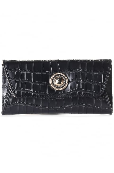 Fold Over Women's Croc Clutch/Purse/Bag