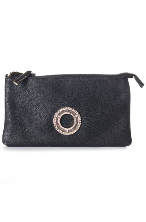 Logo Ring Women's Zip Top Clutch