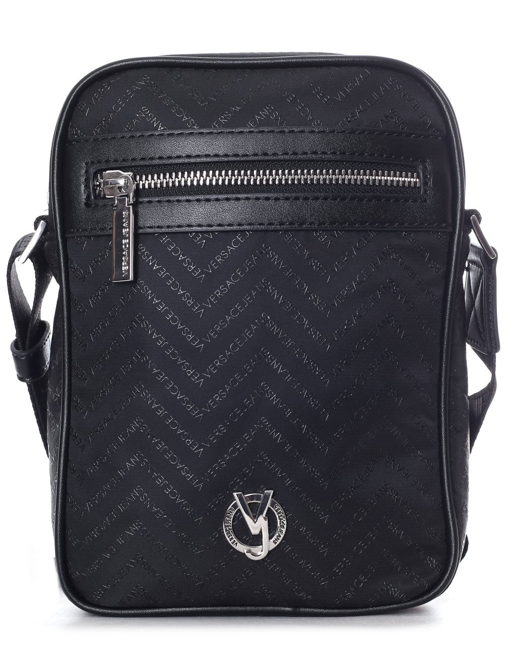 Versace Jeans Men s Chevron Cross Body Bag b5845a5e6a6a9