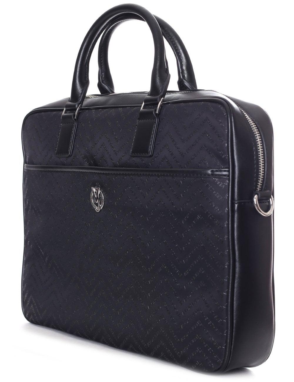 Versace Jeans Men s Chevron Laptop Bag 589e23966c20c