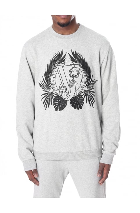 Men's Embroidered Logo Crew Neck Sweat