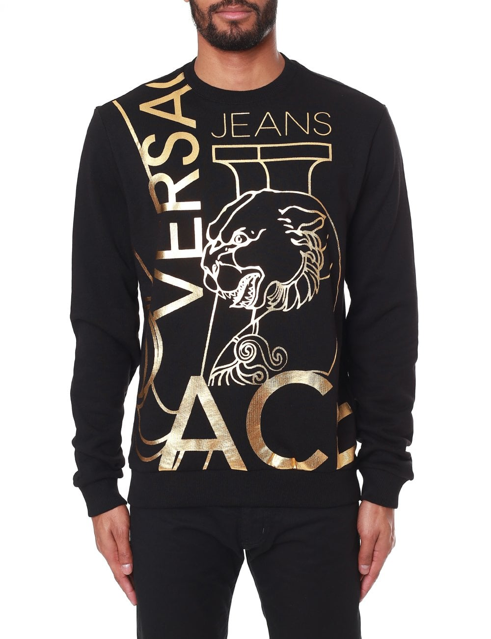 827a398f Versace Jeans Multi Foil Logo Sweatshirt