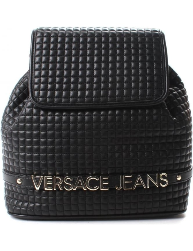 Versace Jeans Quilted Women's Backpack