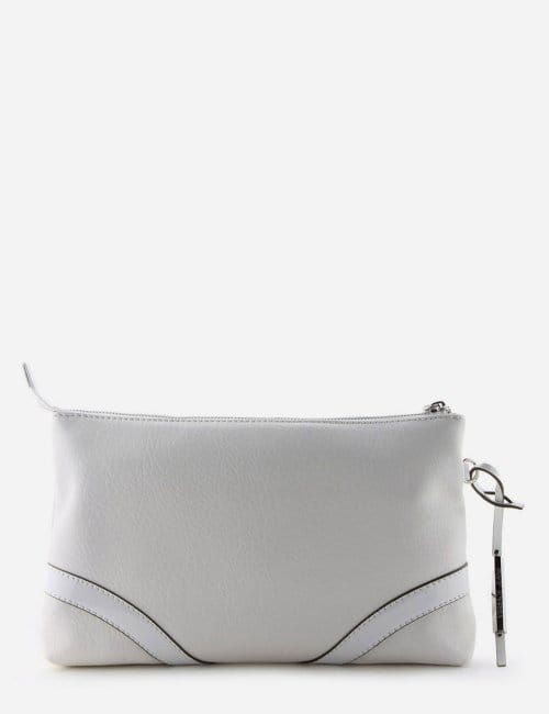 6f7065367e99 Stud Detail Women s Clutch Bag White