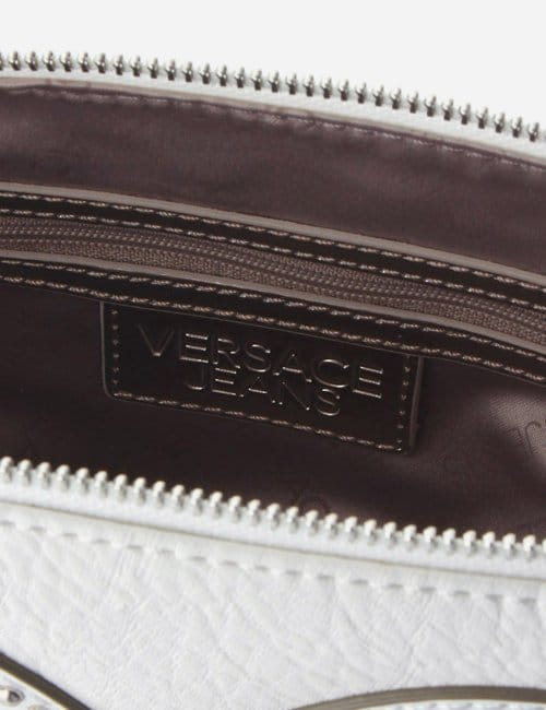 59f17e0545 Stud Detail Women s Clutch Bag White