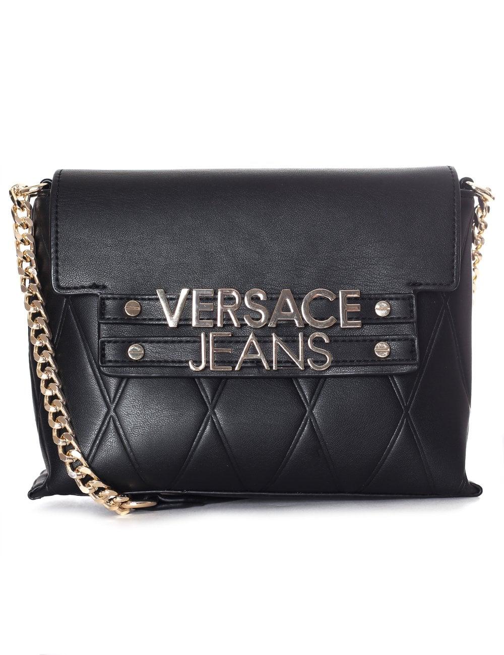 Versace Jeans Women s Half Quilt Shoulder Bag 45b5e16c23dfb
