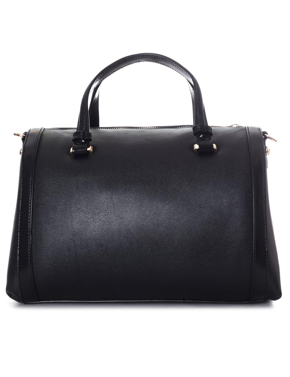 de6fb8bf3bedd Versace Jeans Women s Large Stud Bowler Bag Black