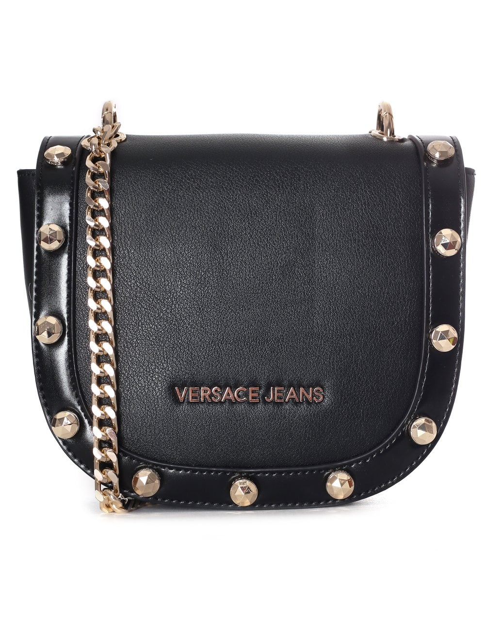 3f29249a673 Versace Jeans Women s Large Stud Chain Cross Body Bag