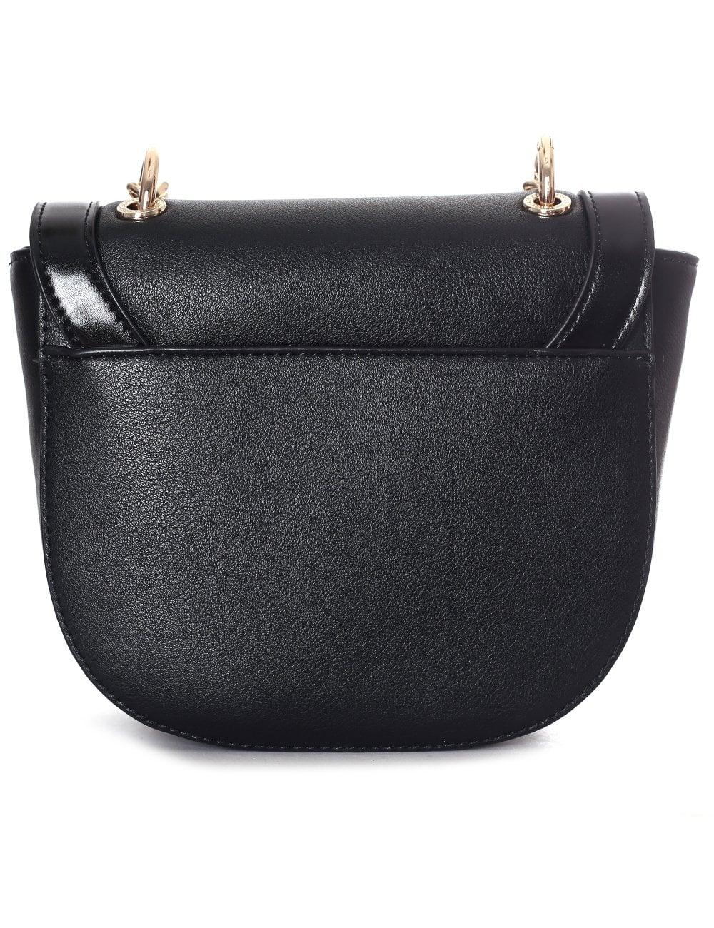 b40225826b Versace Jeans Women s Large Stud Chain Cross Body Bag Black