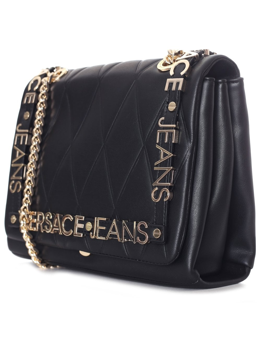 fd3131918976 Versace Jeans Women s Quilted Chain Shoulder bag