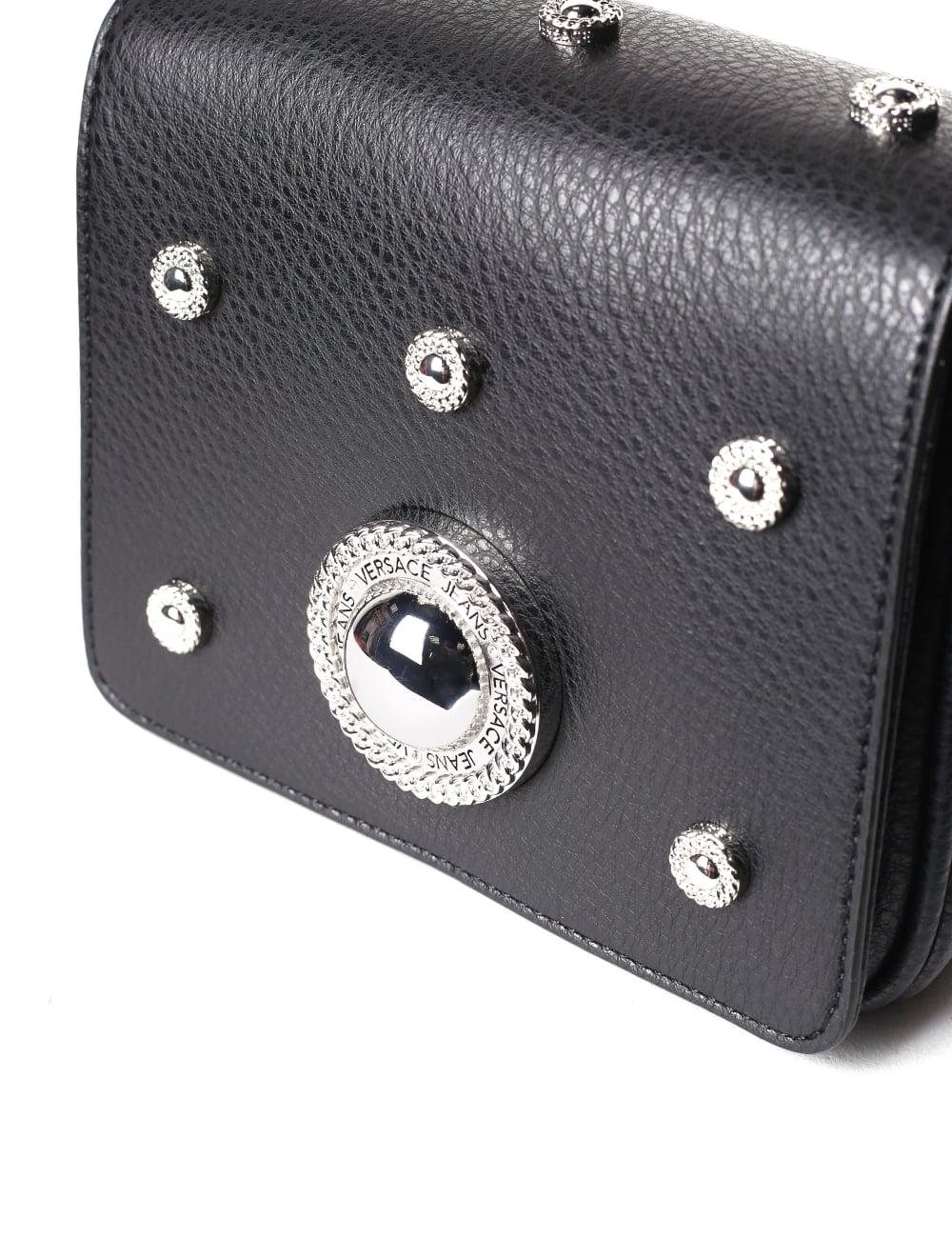 Versace Jeans Women s Studded Crossbody Bag 8bf37c4fac324